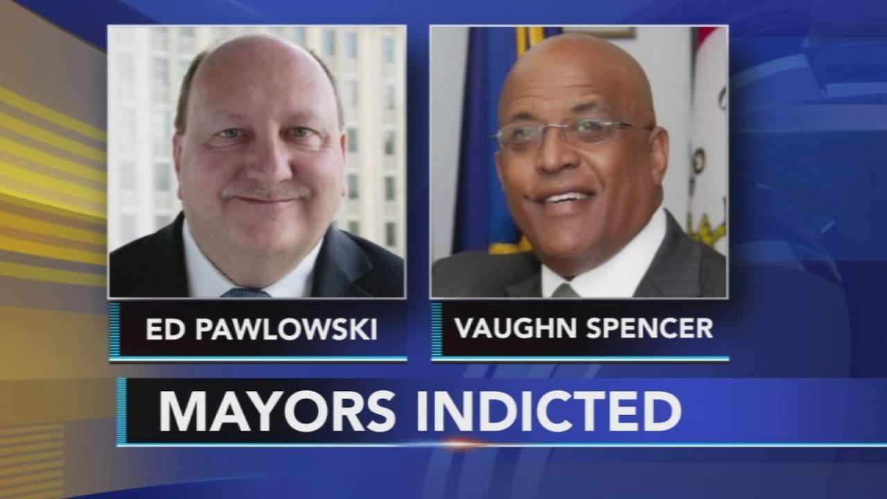 Allentown mayor, ex-Reading mayor charged with corruption