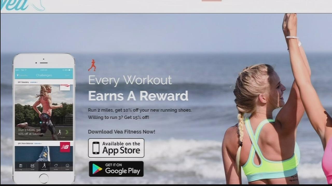 Vea Fitness app rewards you for exercising