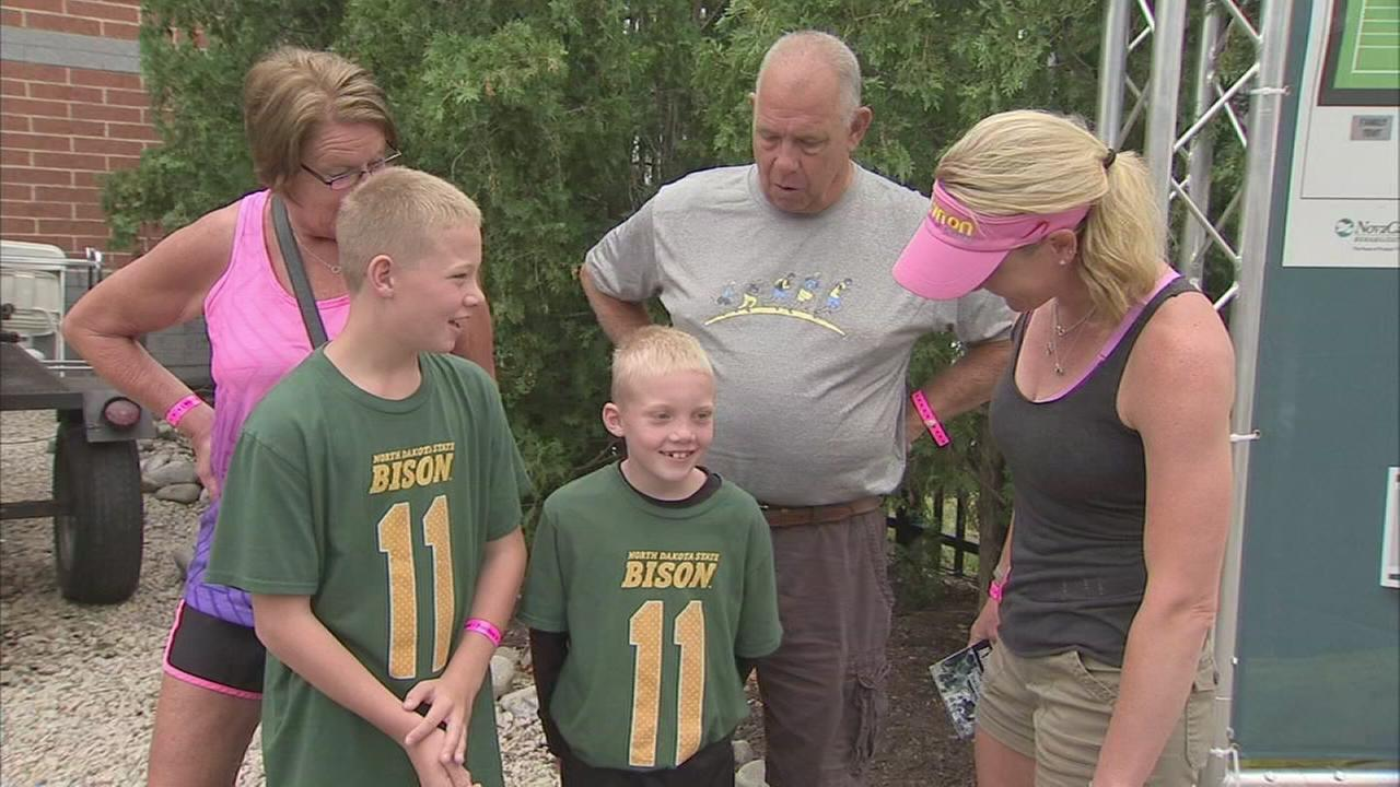 North Dakota fans travel to Philly to see Carson Wentz