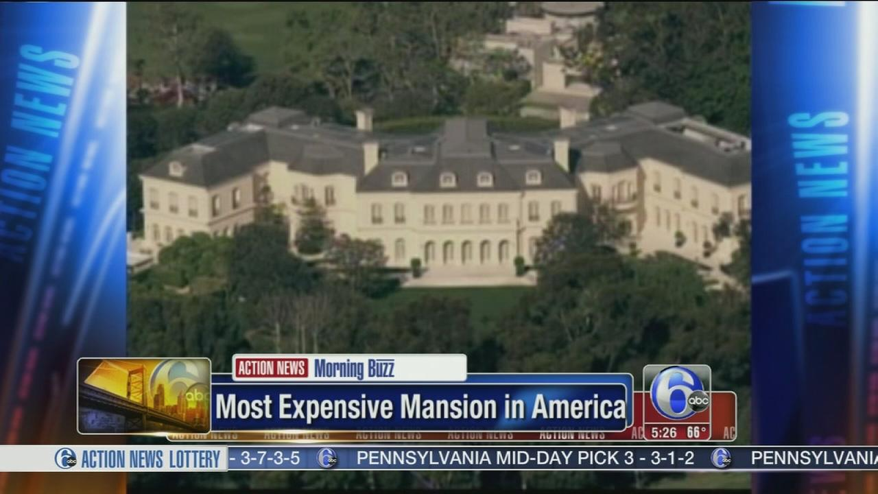 VIDEO: Most expensive mansion in America for sale
