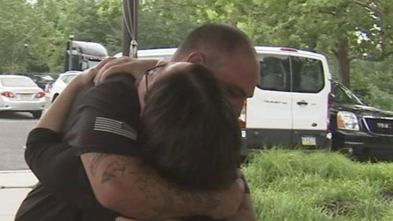 After online discovery, NJ vet meets unknown half-sister