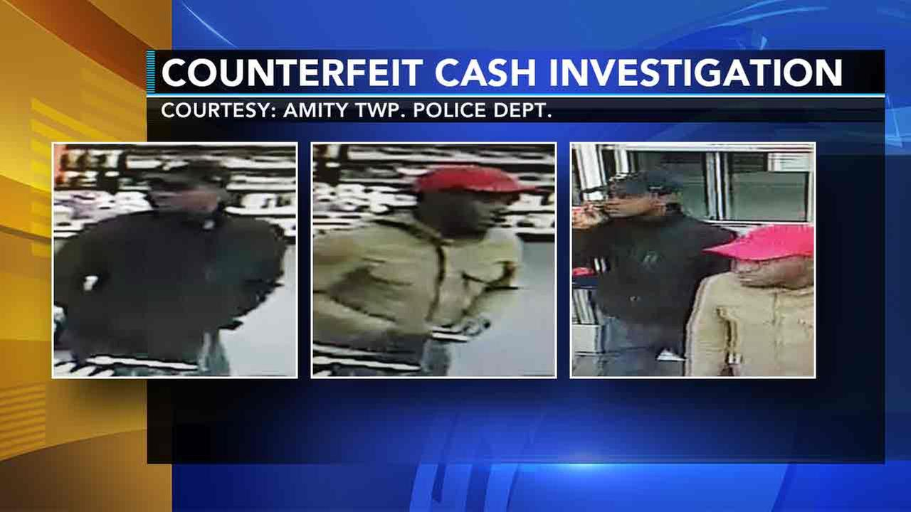 Police: 2 men using fake $100 bills across Delaware Valley