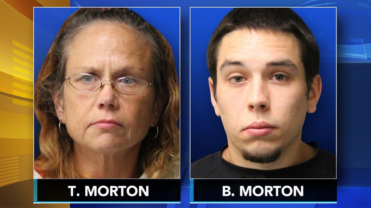 Police: Mother, son stole from cars in Delaware