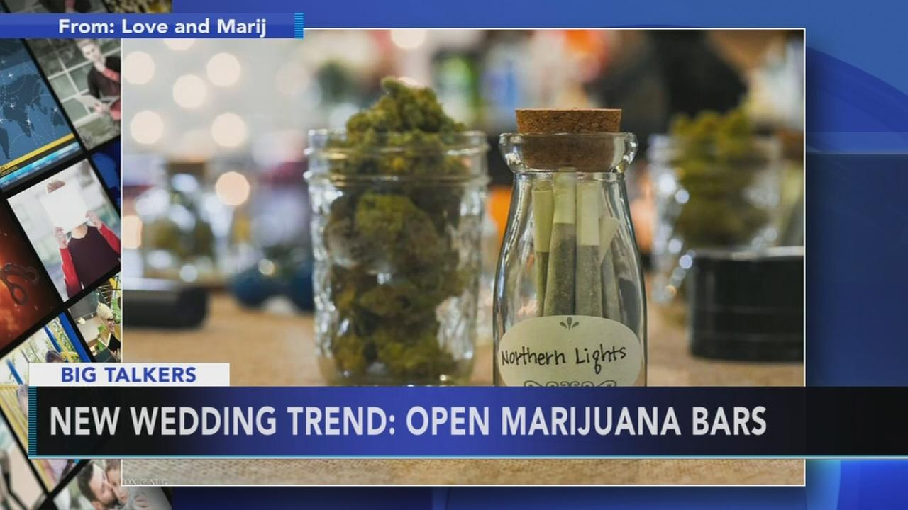 Weed-themed weddings becoming latest trend