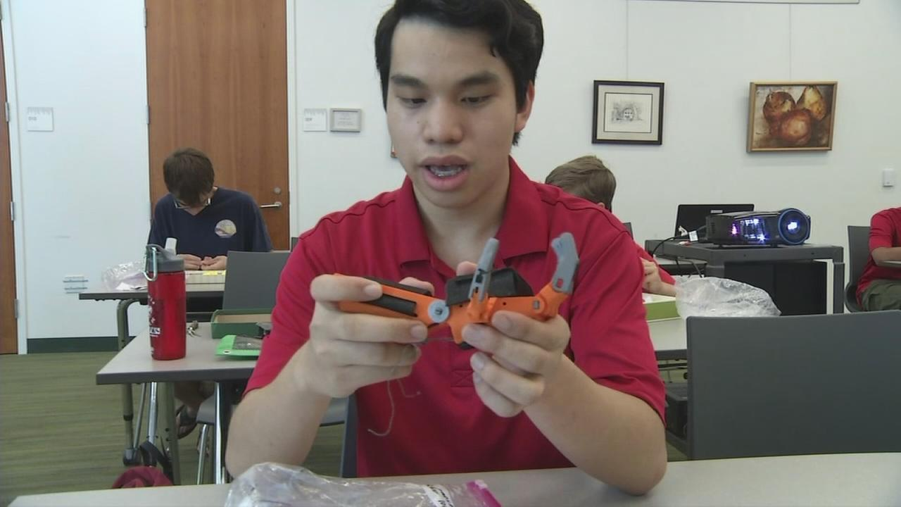 VIDEO: VIDEO: Eagle Scout prosthetic hand project