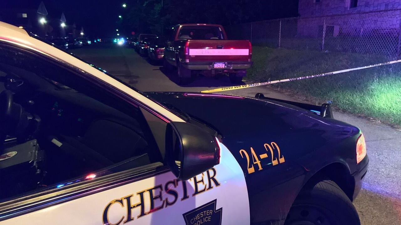 Chester shooting leaves three men wounded