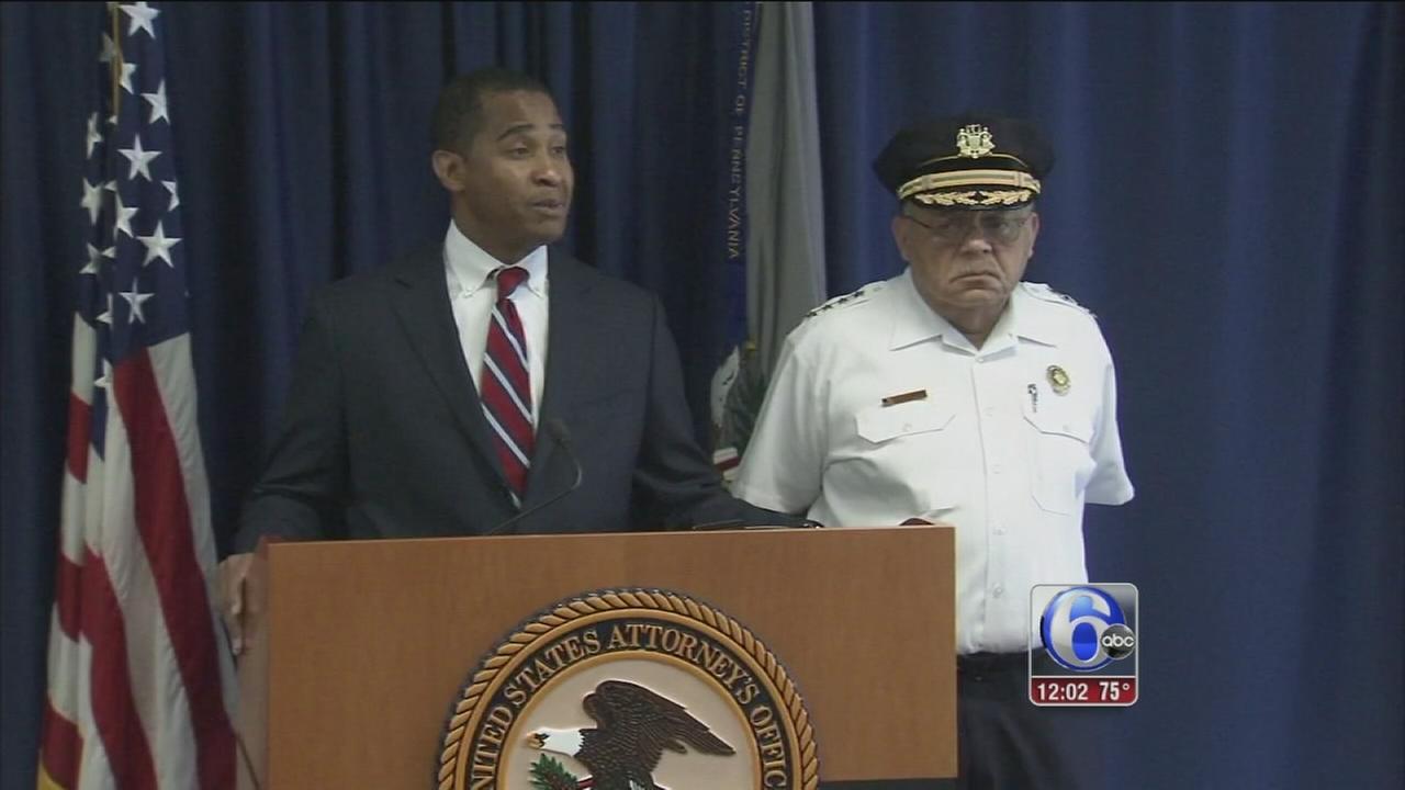 VIDEO: 6 Phila. narcotics officers arrested
