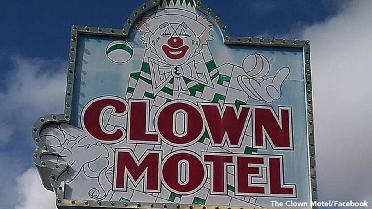 Nevada clown motel, possibly haunted, up for sale