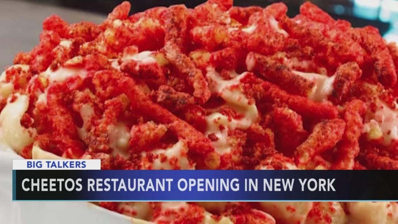 Cheetos pop-up restaurant opening in New York City