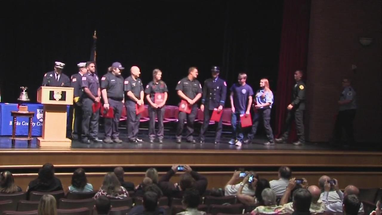 Firefighters complete advanced training