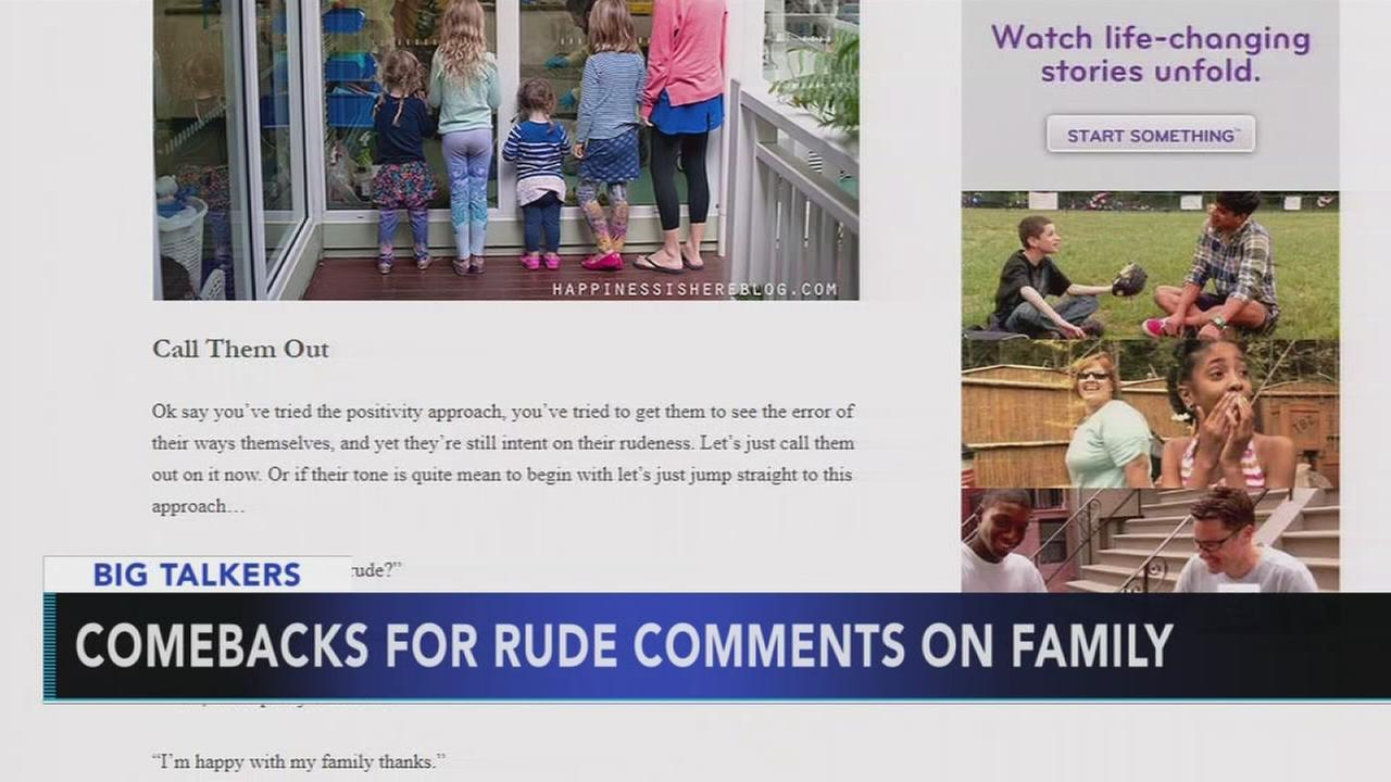 VIDEO: Comebacks for rude comments