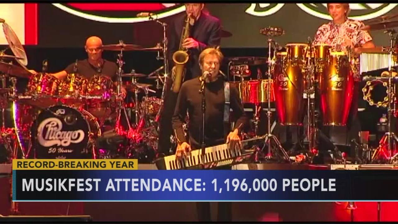 Record breaking year for Musikfest