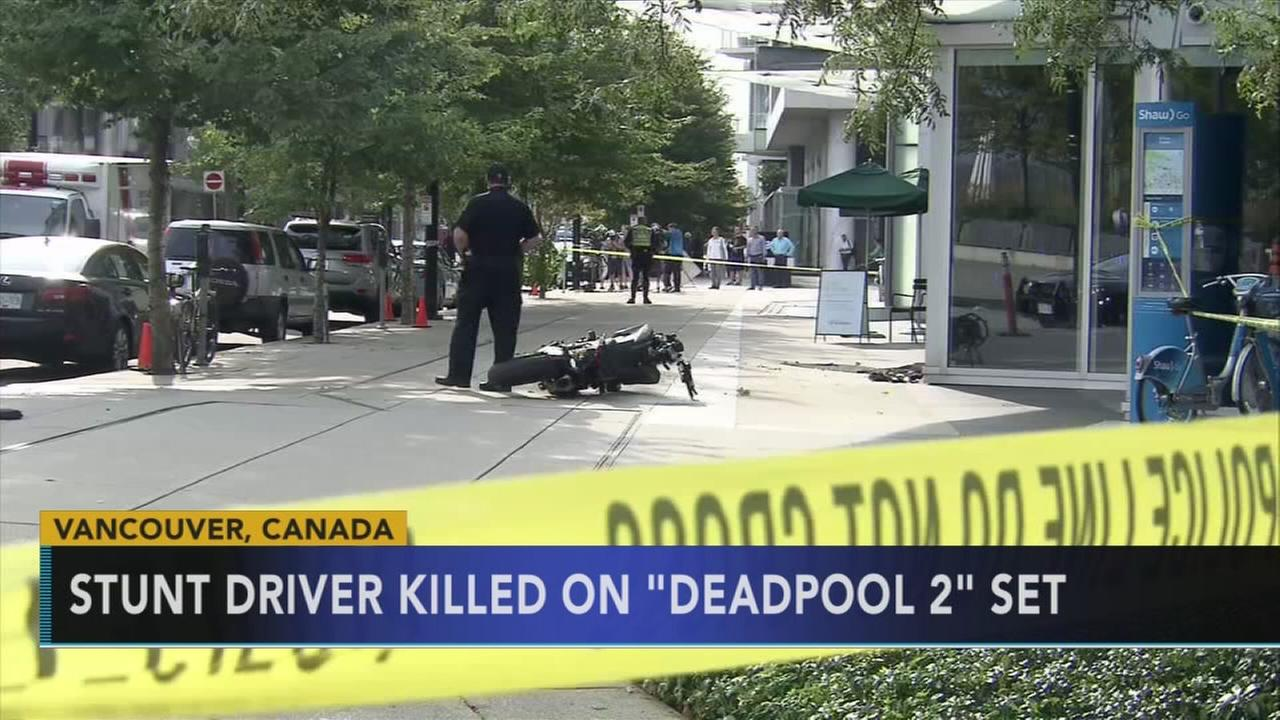 Stunt driver dies while filming Deadpool 2 in Vancouver