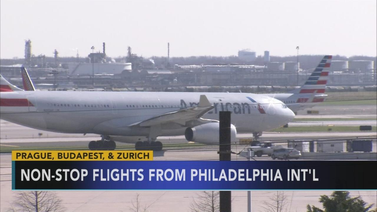 AA to offer non-stop flights from PHL to 3 European cities