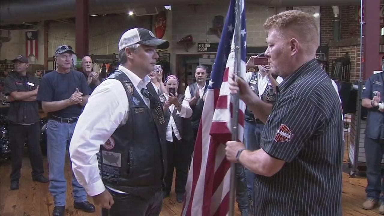 Patriot tour arrives in Delaware to raise money for veterans