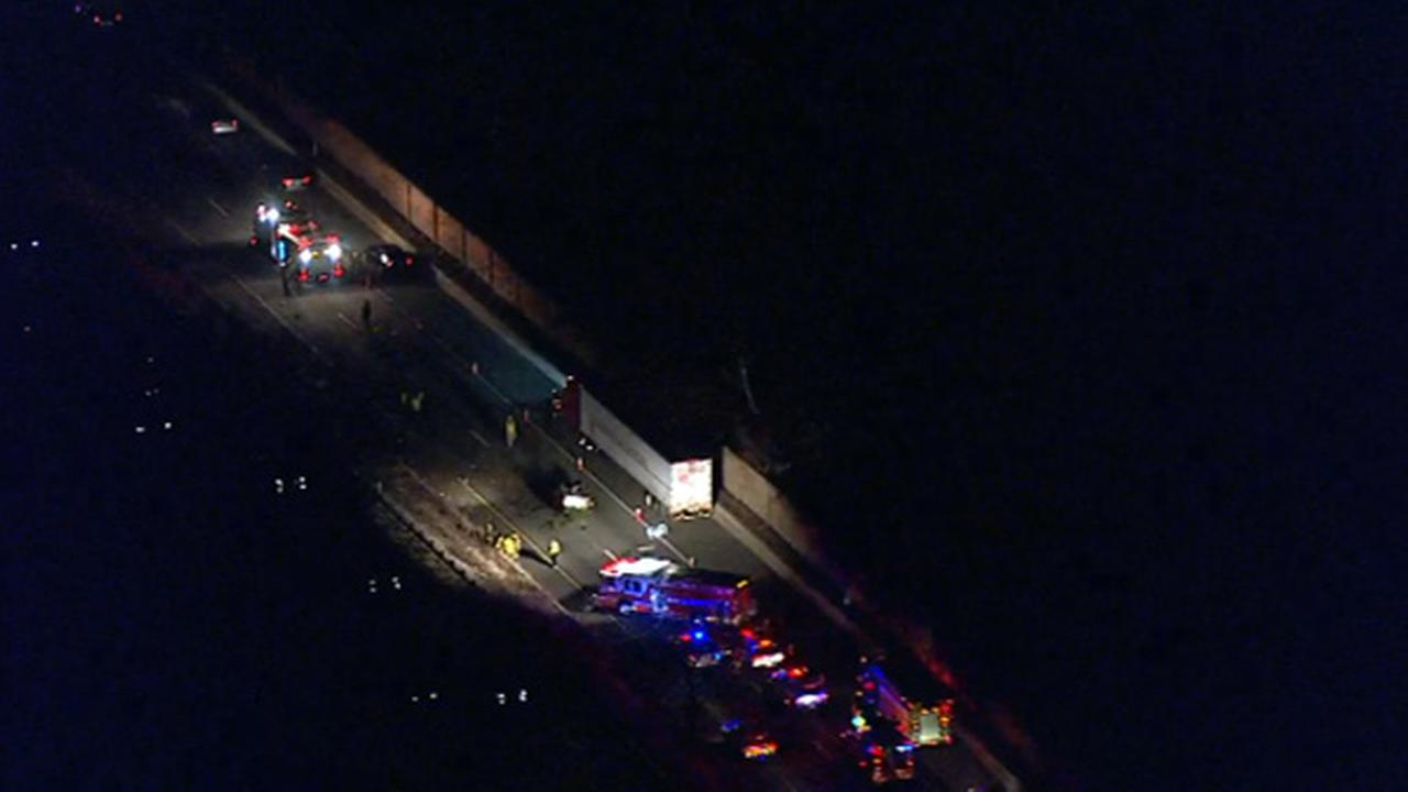 Man killed in multi-vehicle crash on Blue Route