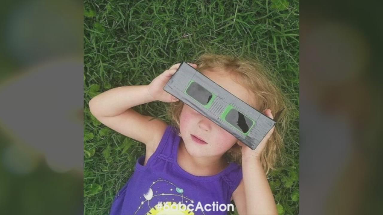 VIDEO: Action News viewers watch eclipse