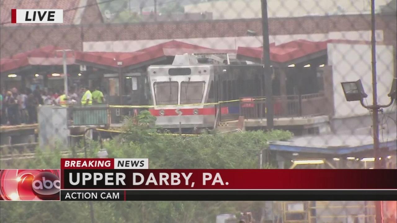 Dozens hurt in SEPTA train crash
