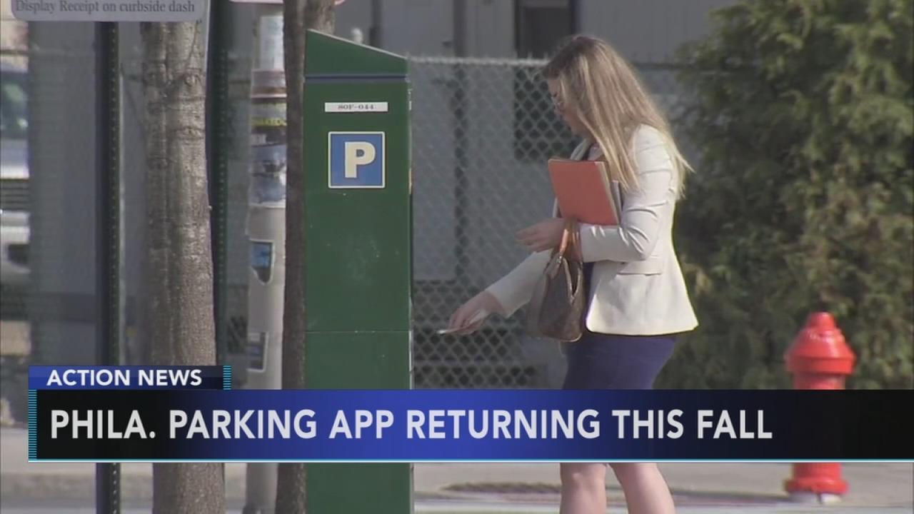 Meter Up app to return to Philadelphia