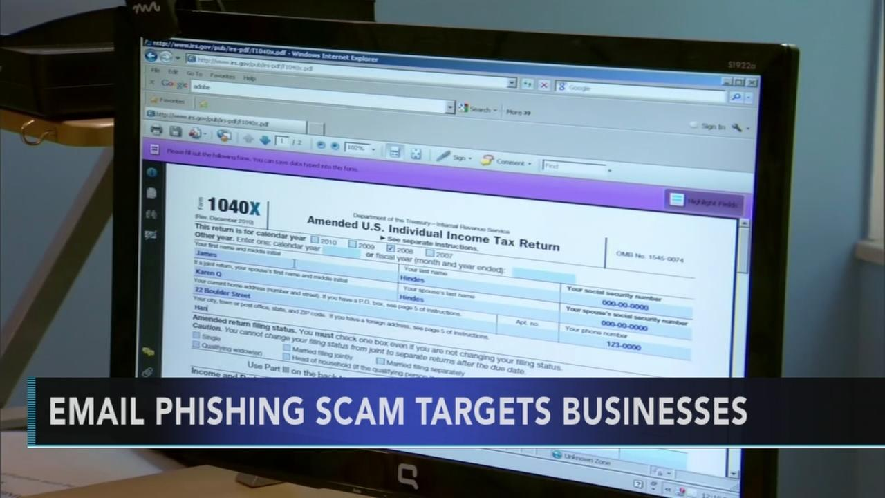 IRS warns companies about email phishing scam