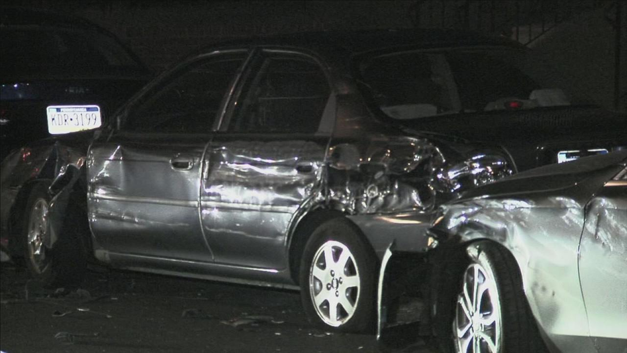 Suspected DUI driver smashes into 27 vehicles