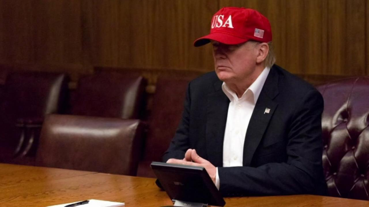 Trump prepares to travel to Texas as state copes with Harvey