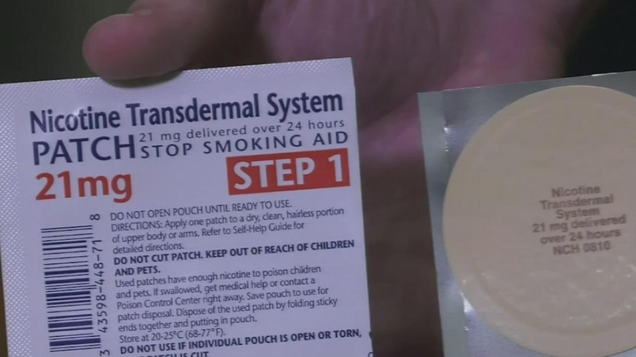 Nicotine patches being tested to treat lung damage