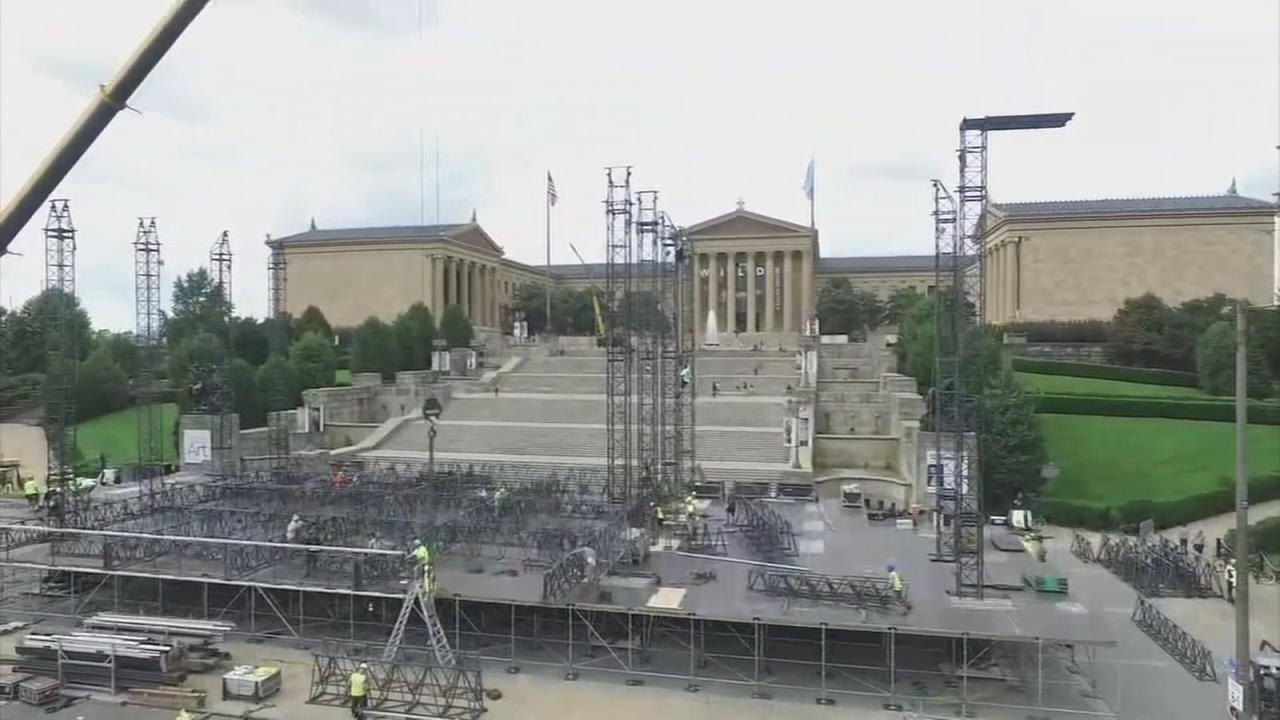 Road closures, preps underway for Made in America