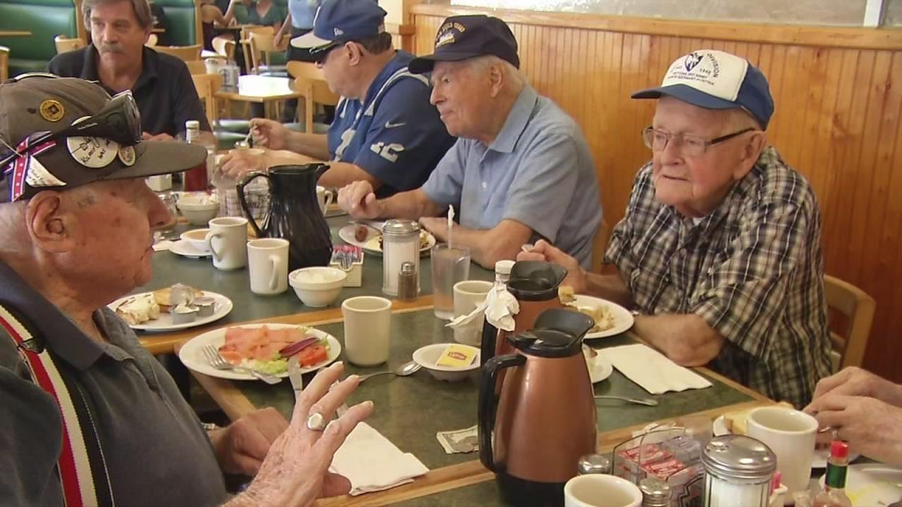 Art of Aging: Local veterans stay young through memories, laughter