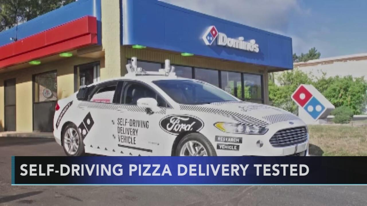 Self-driving pizza delivery tested