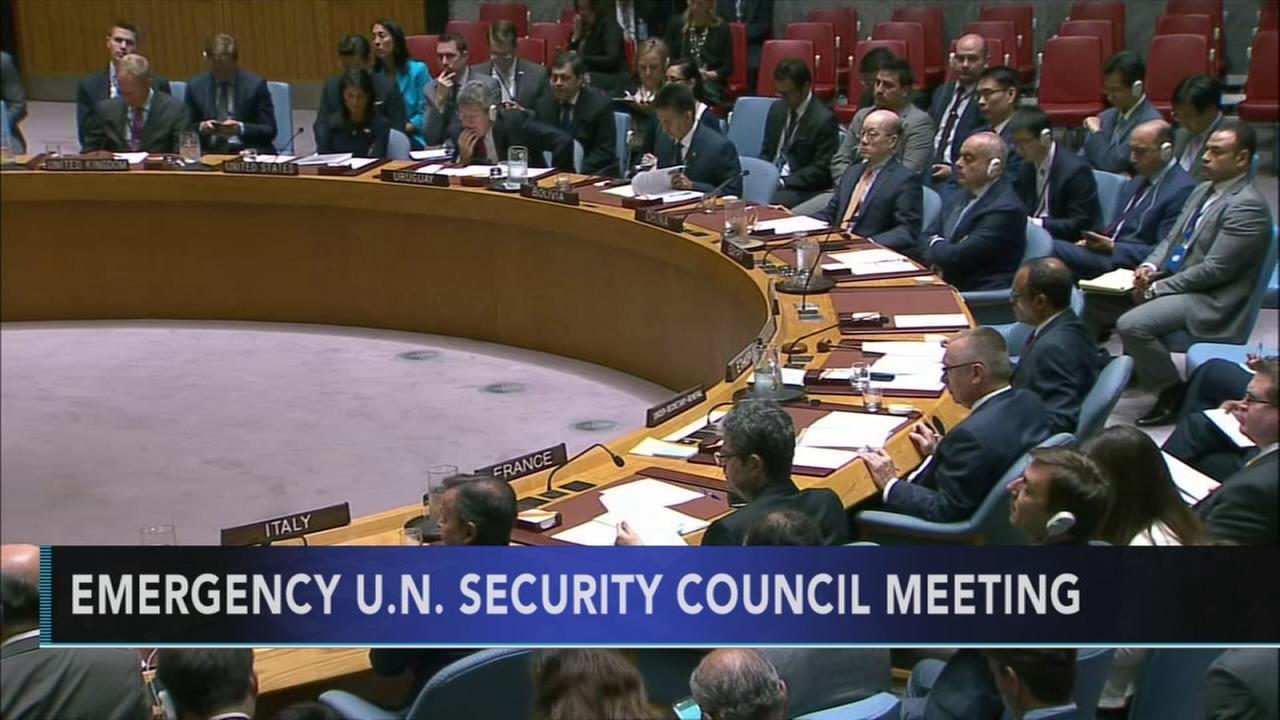 U.N. meets over North Korea