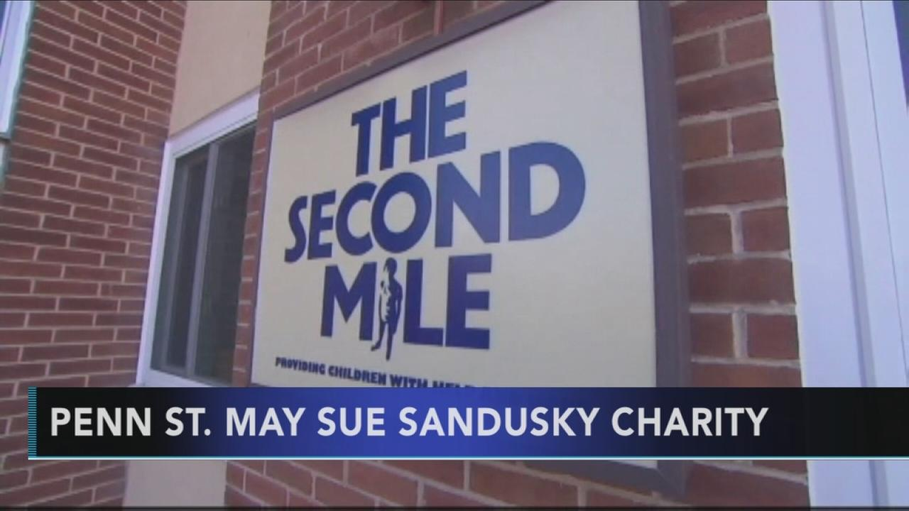 Penn State plans to sue charity Sandusky founded