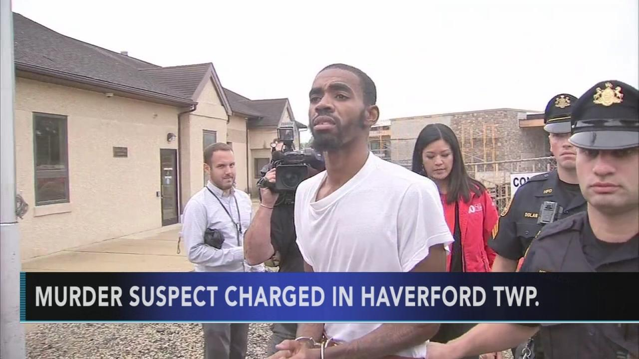 Man arraigned in Haverford Township murder