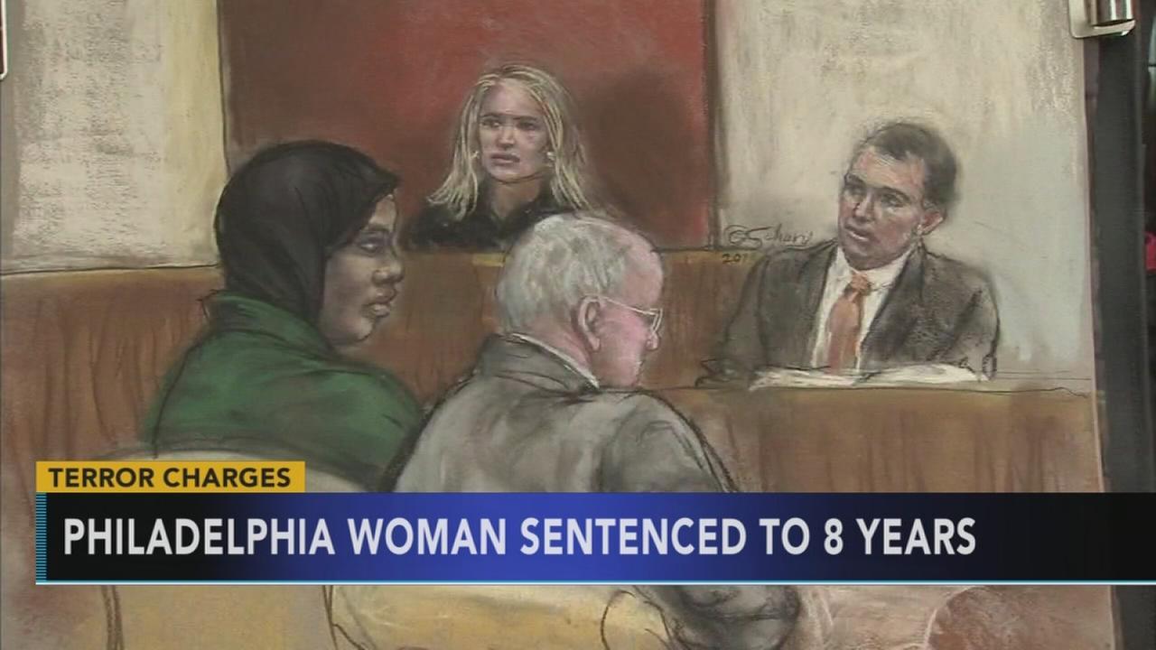 Philadelphia woman sentenced to 8 years