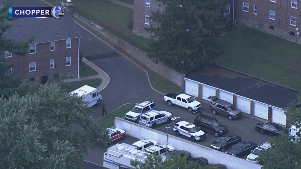 Barricade situation in Elkins Park