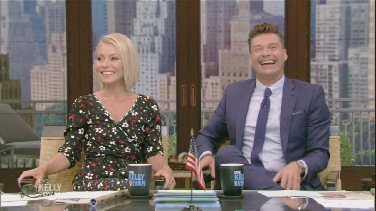 Kelly Ripa and Ryan Seacrest kick off first full season together on Live