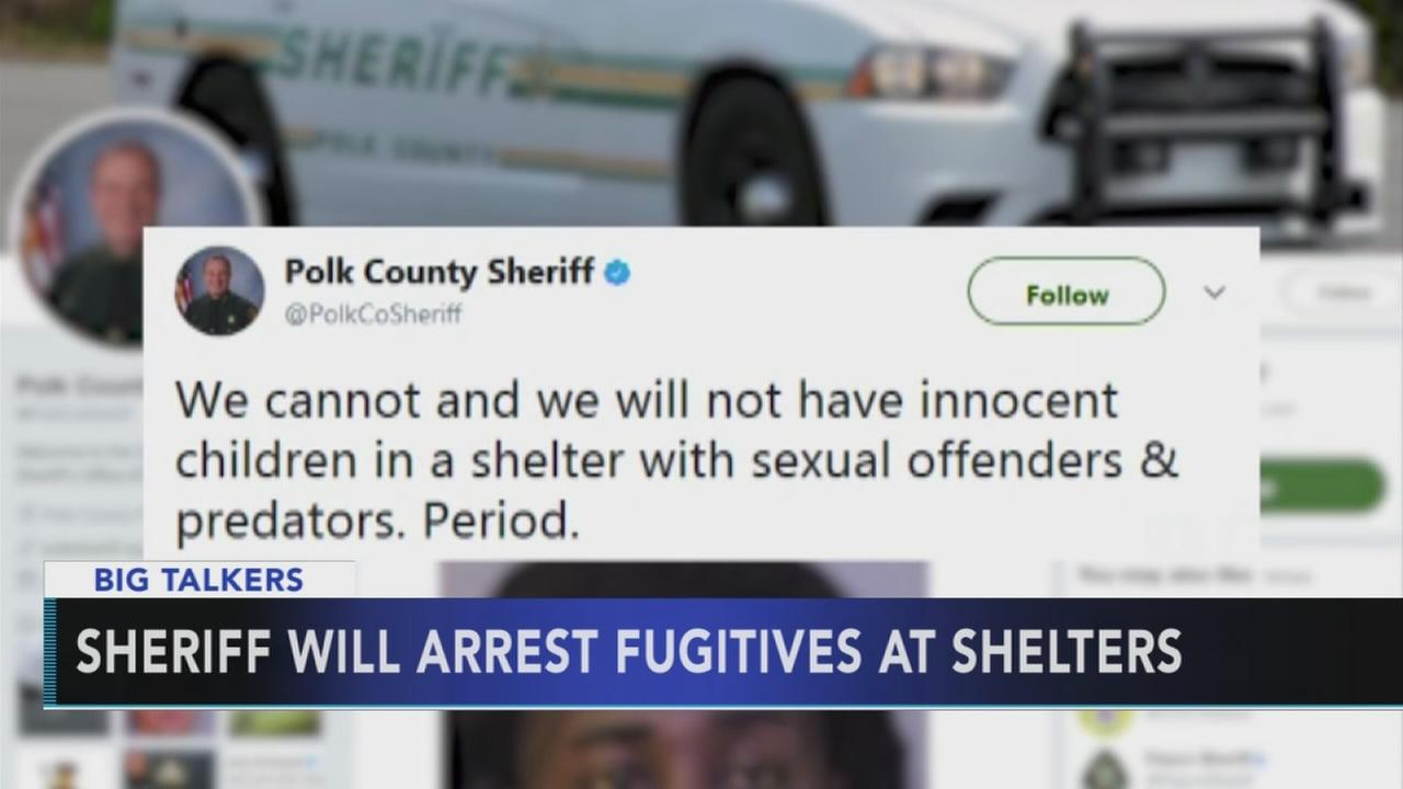 Florida sheriff warns criminals against coming to Irma shelters
