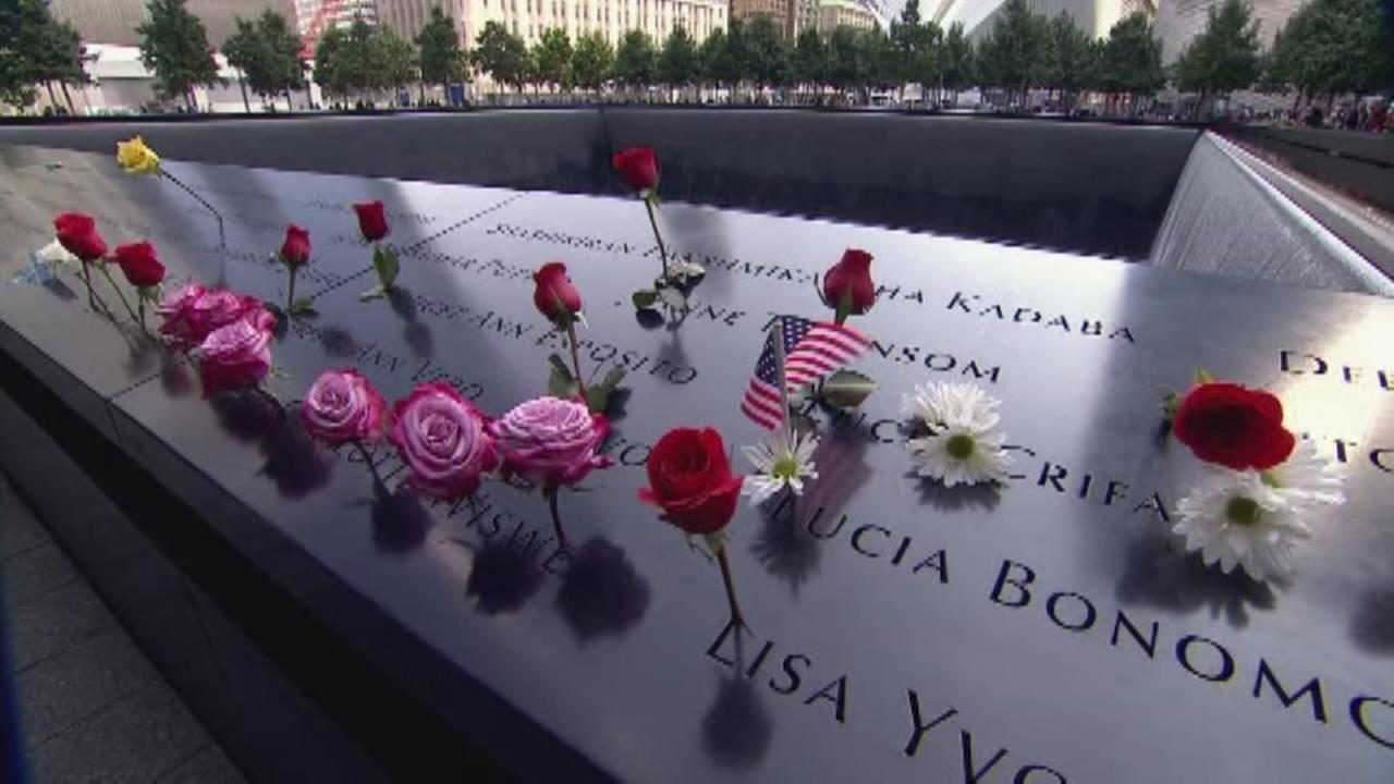 US marks 9/11 anniversary with resolve, tears and hope