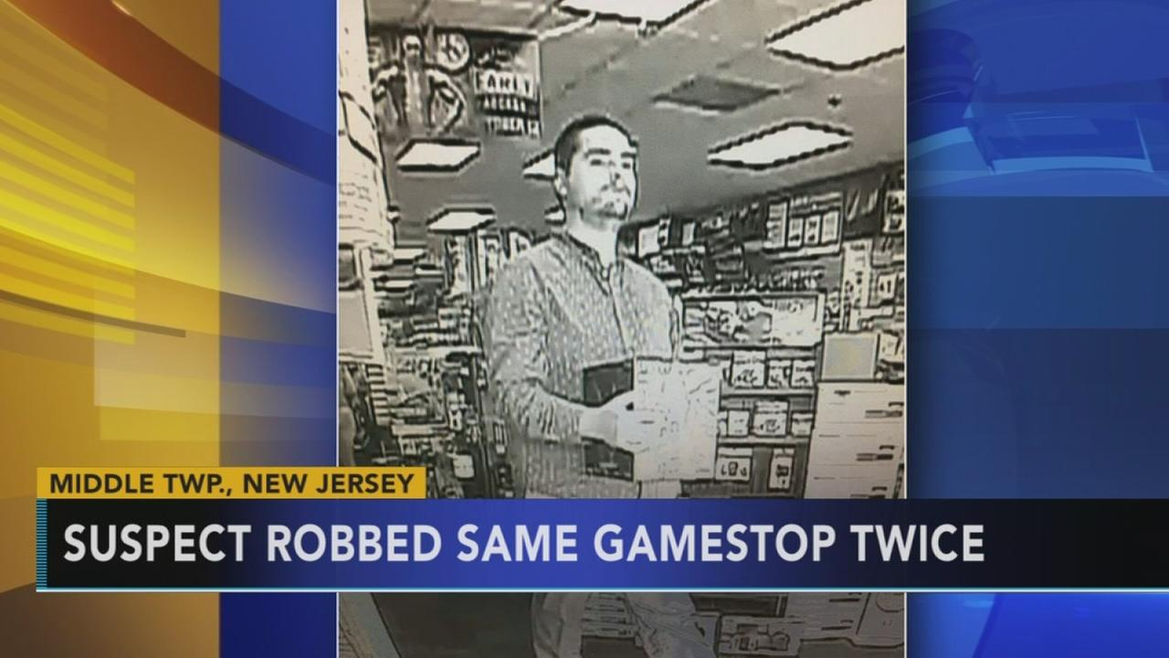 Suspect robs same GameStop twice