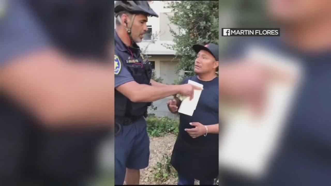 UC Berkeley cop confiscates vendors cash in viral video
