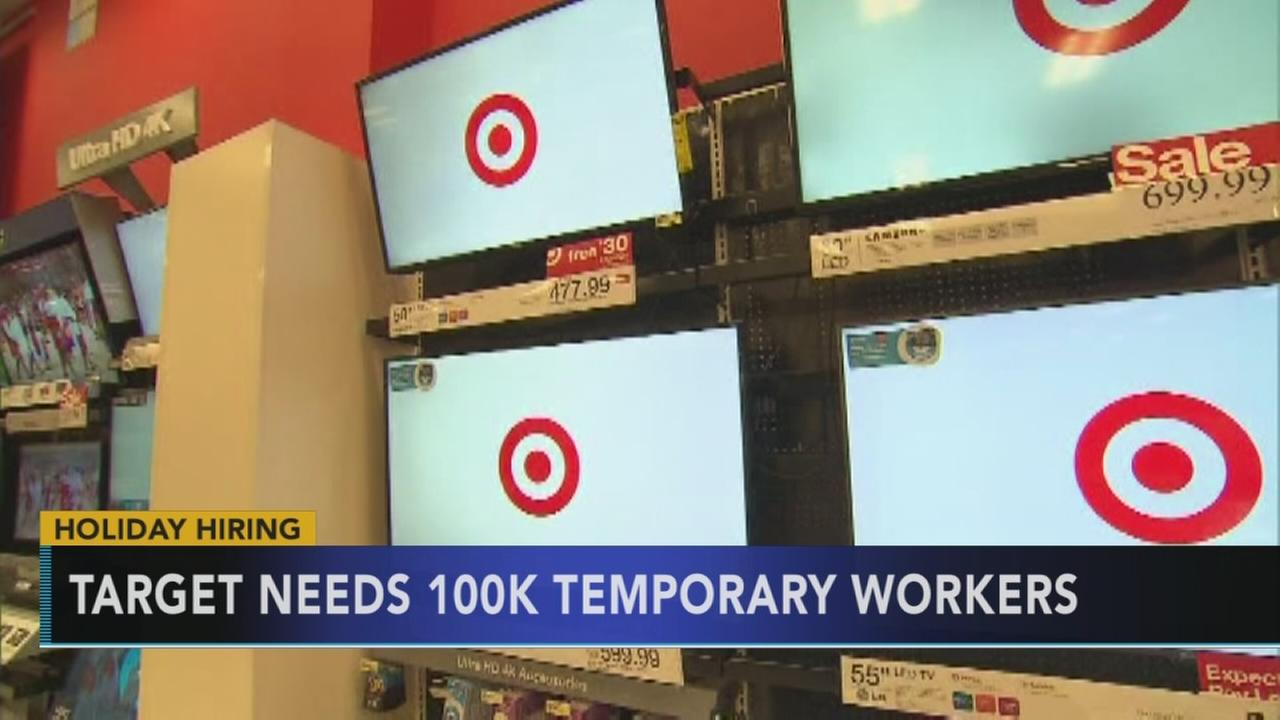 Target plans to hire around 100,00 workers for holiday season