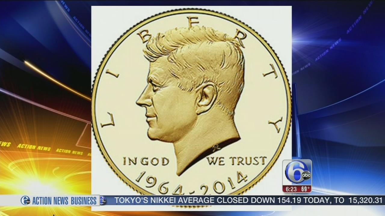 VIDEO: Collectors wait in Philly line to grab new gold coin