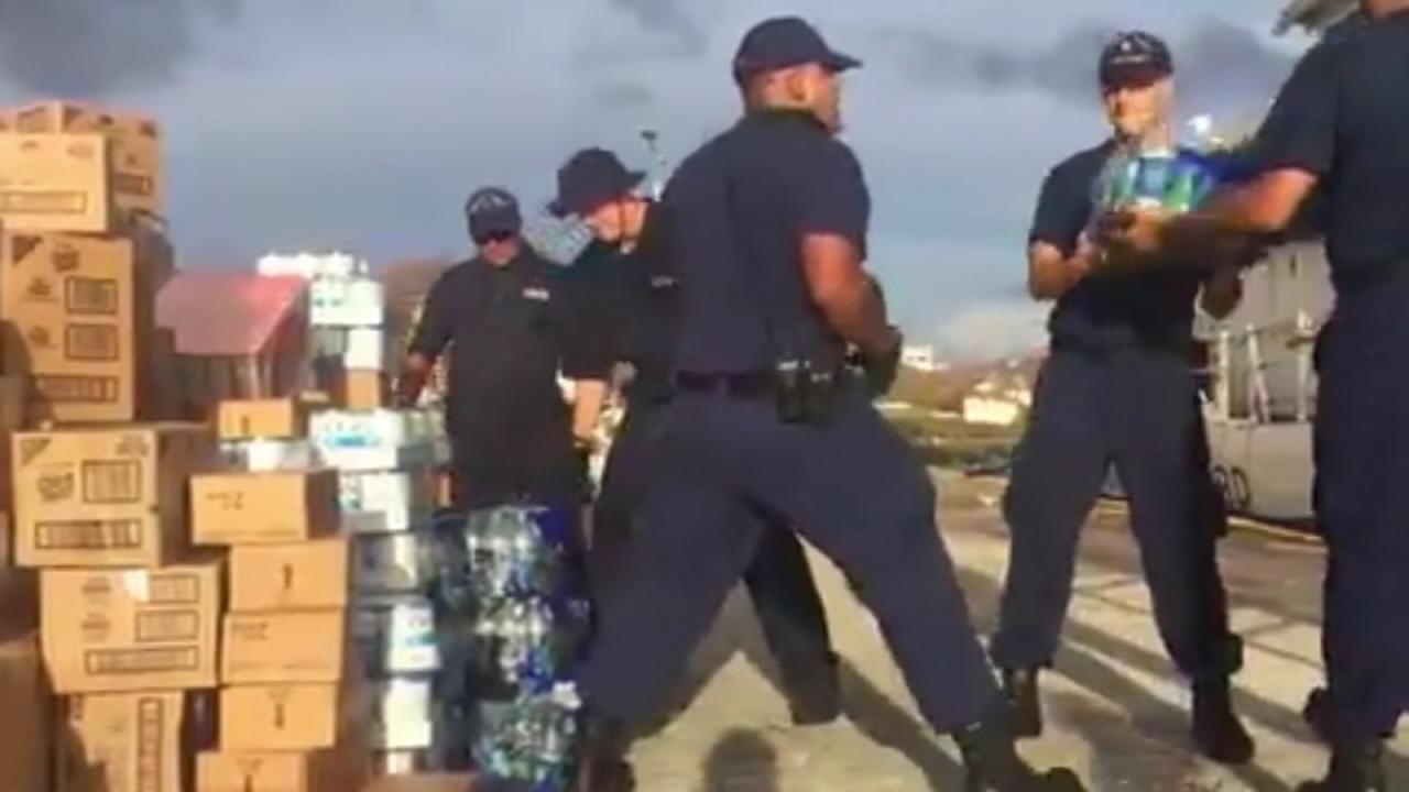 US Virgin Islands getting aid, but still reeling from Irma