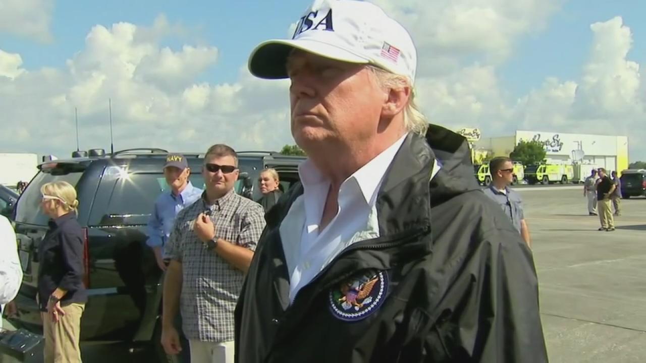 President Trump praises rapid response to Irma in Florida