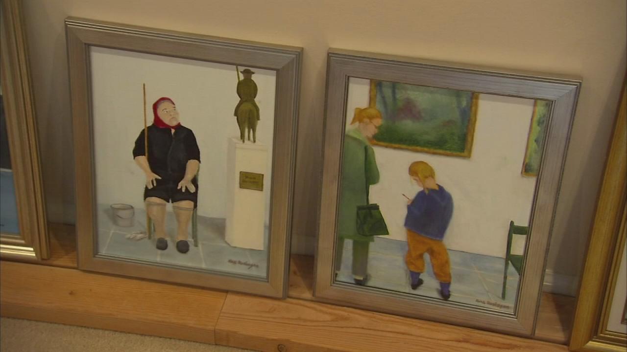 Art of Aging: Main Line couple enjoy retirement through art