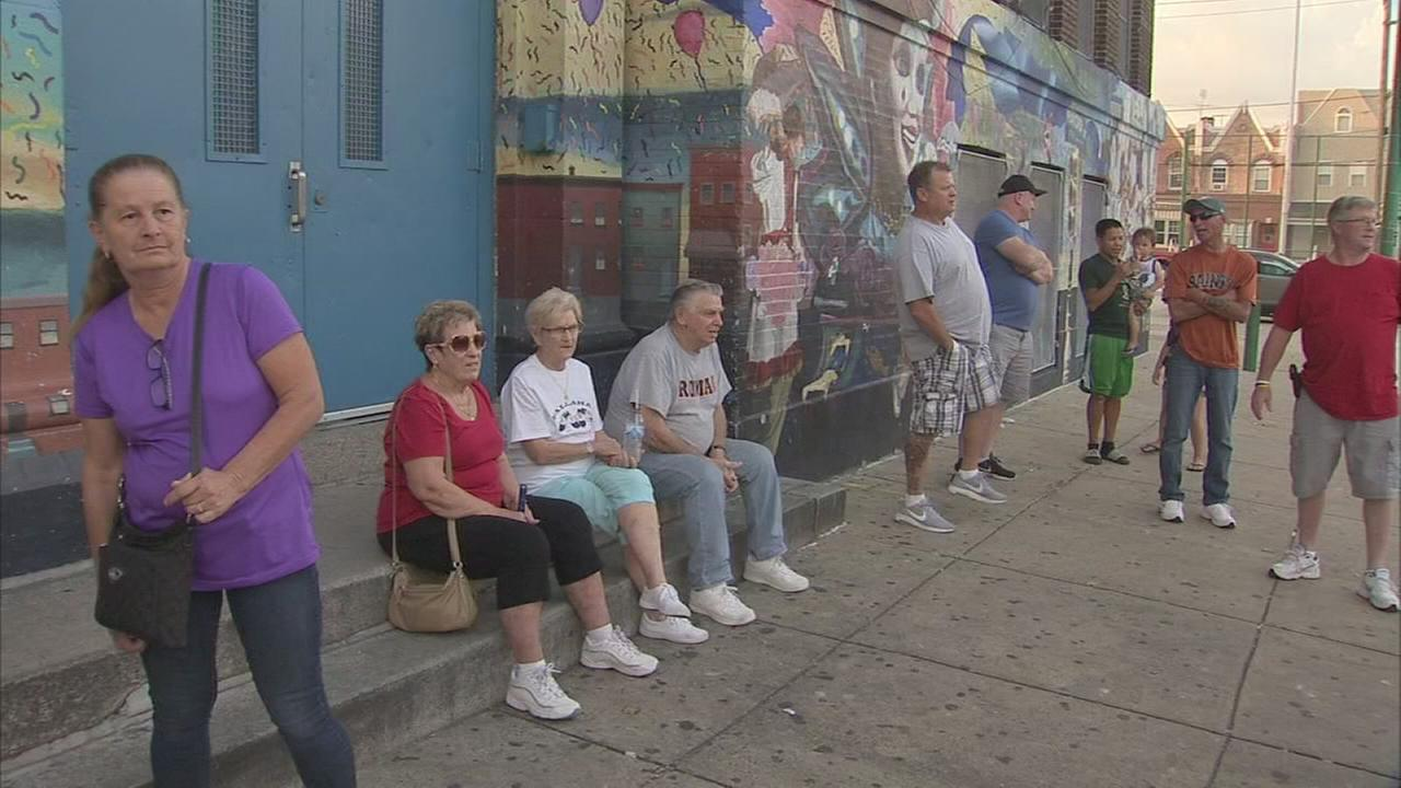 Neighbors gather where teens wreak havoc in South Philly