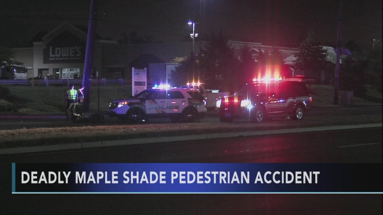 Pedestrian struck and killed in Maple Shade