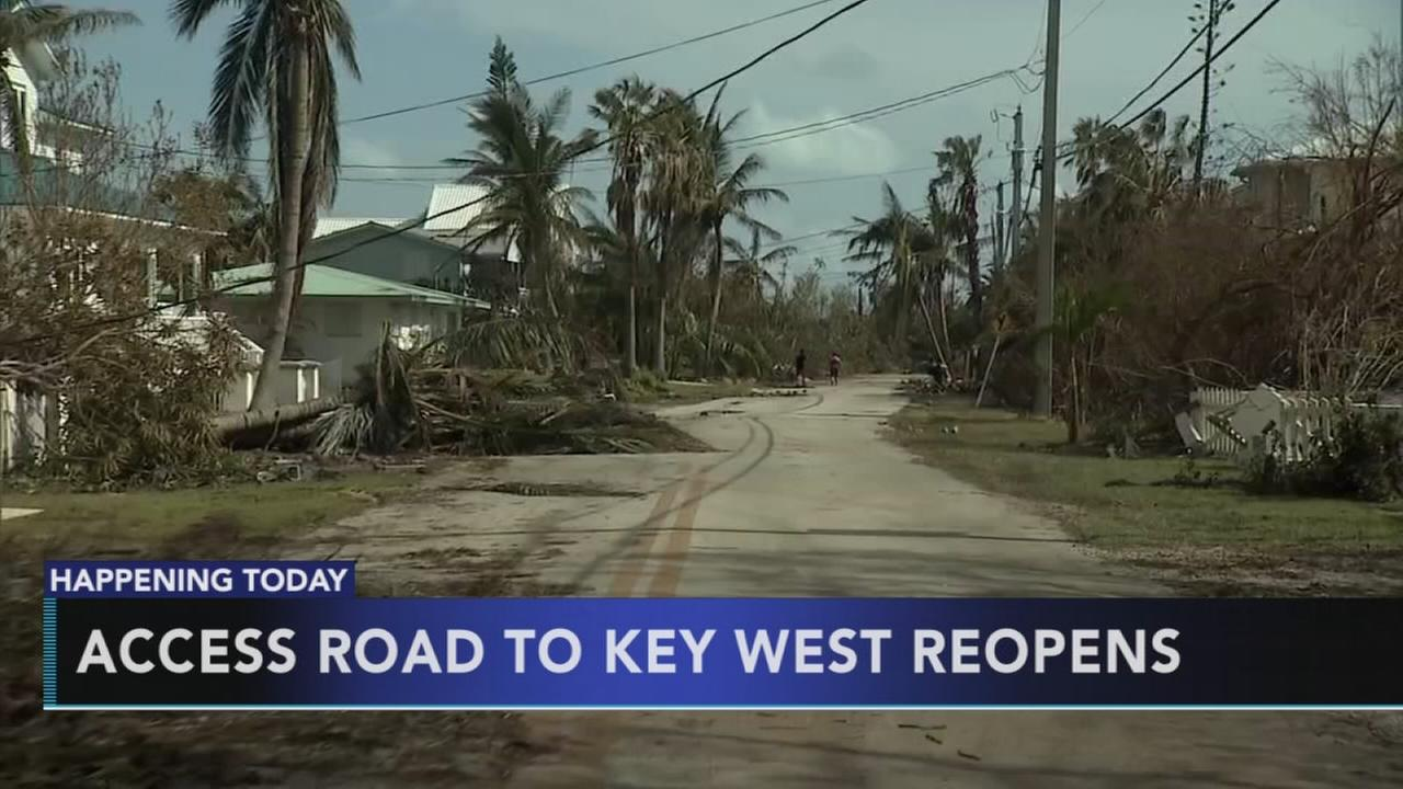Access road to Key West reopens