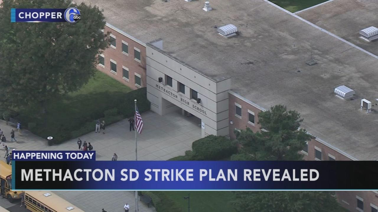 Methacton School District strike plan to be revealed