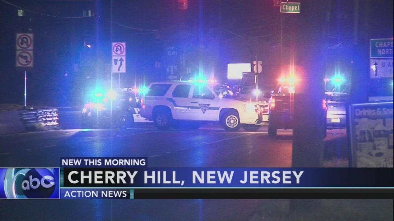 Person hit by car in Cherry Hill